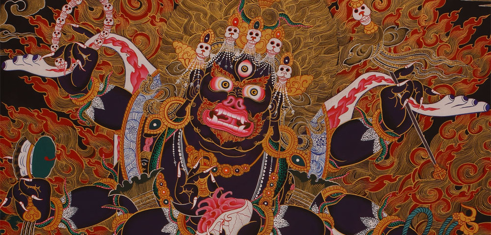 Applied Buddhism: Fight your inner demons on a higher plane